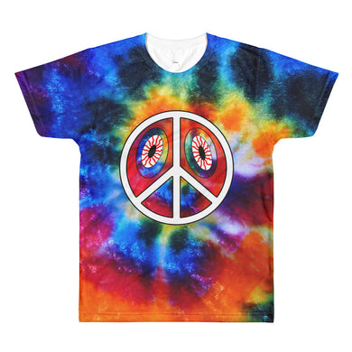 The Audible484 Tie-Dye ALLOVER PREMIUM T-shirt
