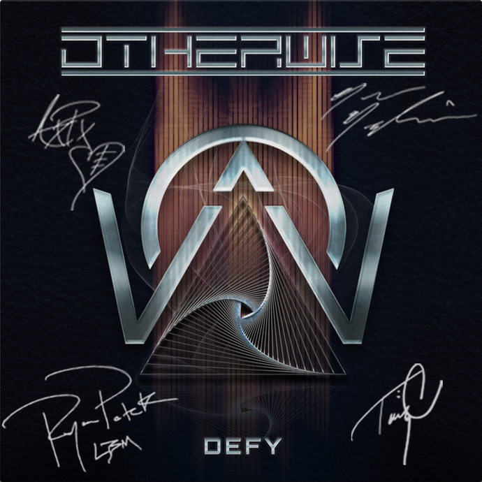 SIGNED DEFY CD Digipak