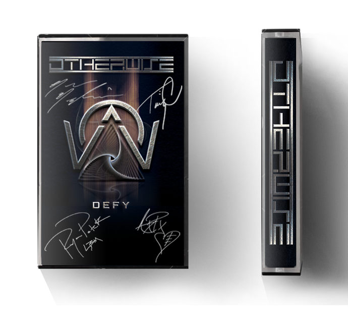 SIGNED 'DEFY' CASSETTE TAPE (VERY LIMITED STOCK)
