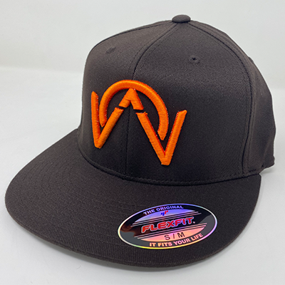 OTHERWISE 3D Logo FITTED Ball Cap Brown