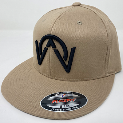 OTHERWISE 3D Logo FITTED Ball Cap Khaki