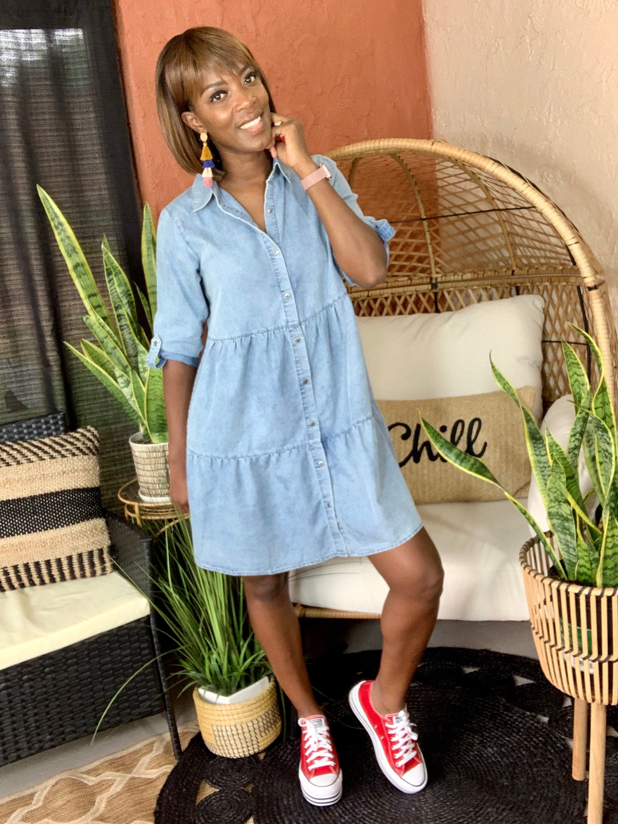 Nivea Denim Dress