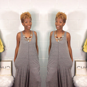 Wide Leg Weekend Jumpsuit