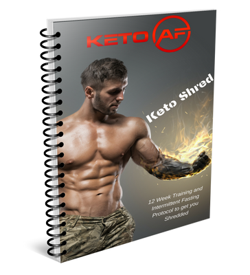 KetoAF Default Title Keto Shred Program (Instant Download)