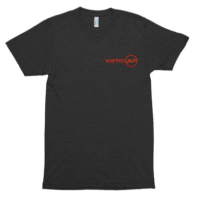 KetoAF S KetoAF Black Short sleeve soft t-shirt