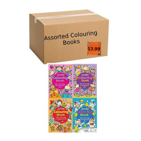 Assorted Box of Colouring Books
