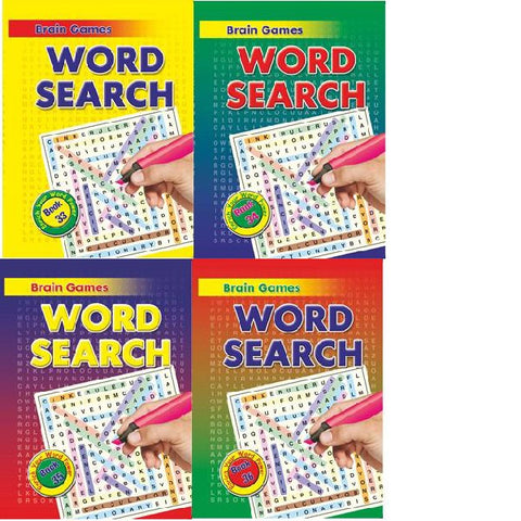 A5 Wordsearch Book 33-36