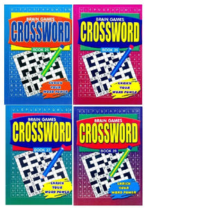 A5 Crossword Book 25-28