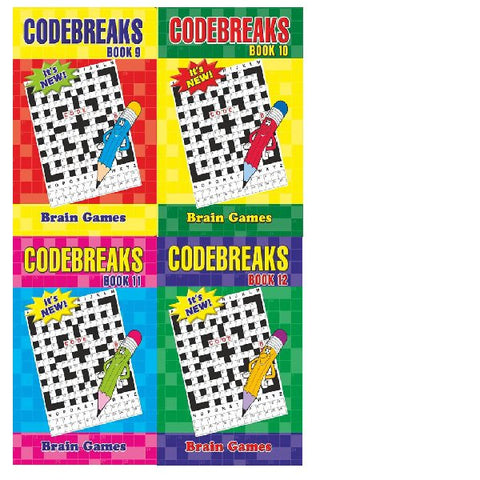 A5 Codebreakers Book 9-12