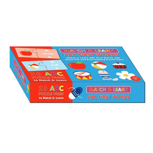 ABC First Words Match & Learn Boxset