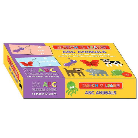 ABC Animals Match & Learn Boxset