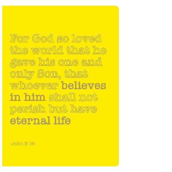 Journal for Success John 3:16