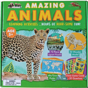 Amazing Animals Activity Boxsets - Available 23rd April