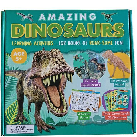 Amazing Dinosaur Activity Boxset