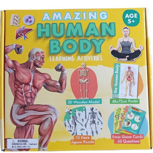 Amazing Human Body Activity Boxset