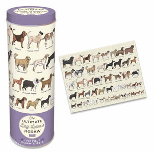 1000 PC Dog Lovers Jigsaw Tin - DUE Late APRIL