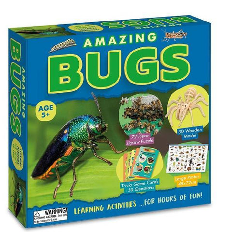 Amazing Bugs Activity Boxset