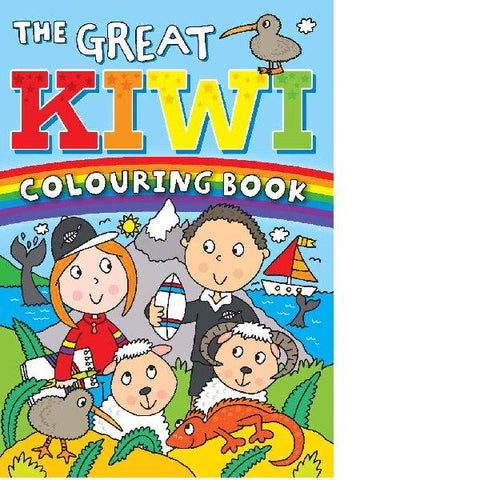 The Great Kiwi Colouring Book - Backorder Now