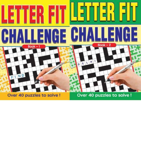 A4 Large Print Letter Fit Challenge 2T Books1-2