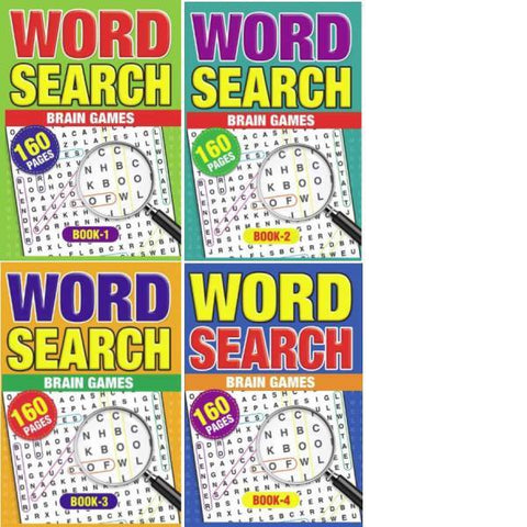 A5 Wordsearch 4T Series 1-4  ( DUE early July)