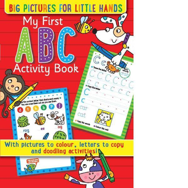My First ABC Activity Book