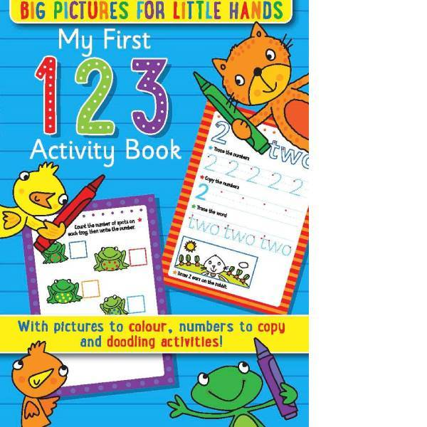 My First 123 Activity Book