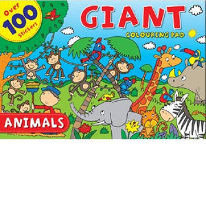 Animals Giant Colouring Pad