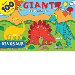 Dinosaur Giant Colouring Pad