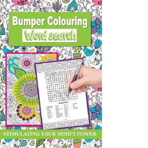 Bumper Colouring Wordsearch  Green