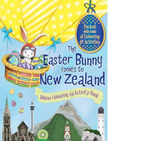 The Easter Bunny Comes to NZ Colouring & Activity Book