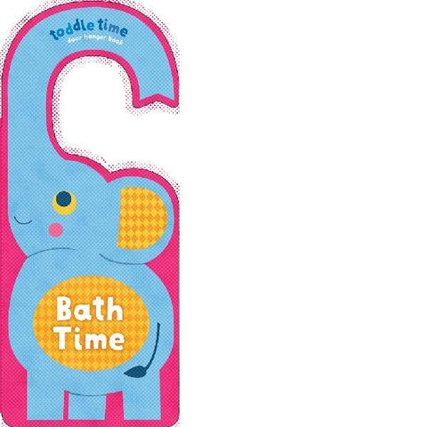 Toddle Time Door Hanger Book Bath Time
