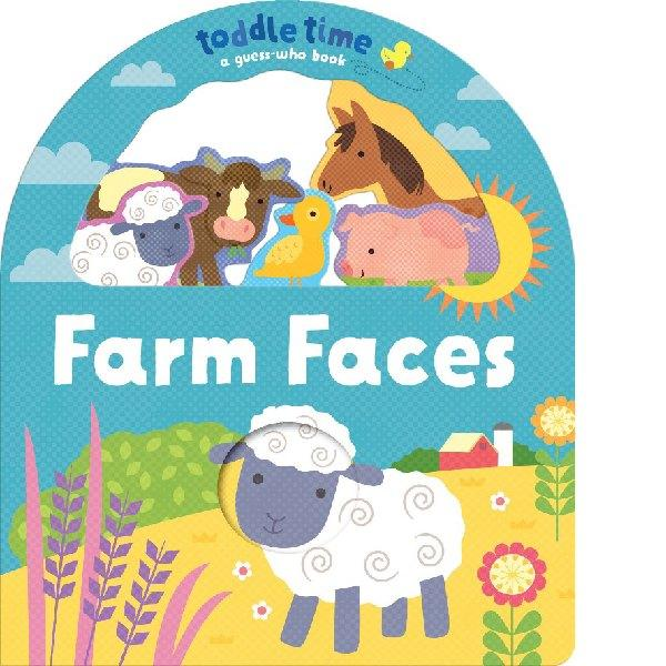 Toddle Time Guess Who Farm Faces
