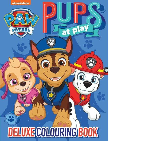 Paw Patrol Deluxe Colouring