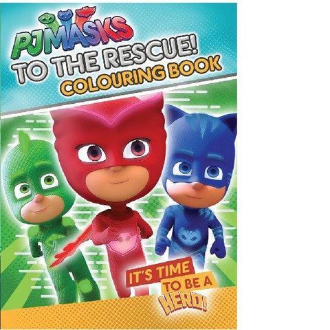 PJ Mask To the Rescue Colouring