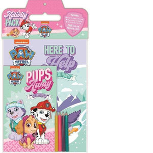 Paw Patrol Activity Pack Pink