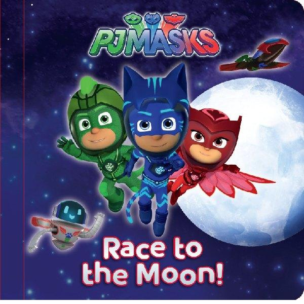 PJ Masks Race to the Moon Storybook