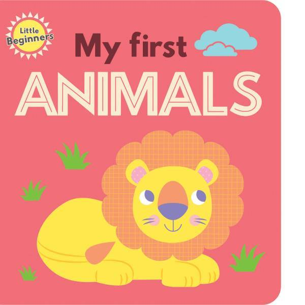 Little Beginners My First Animals 11pg spread