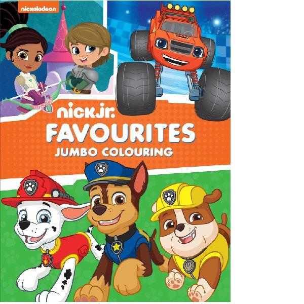 Nick Jnr Favourites Jumbo Colouring
