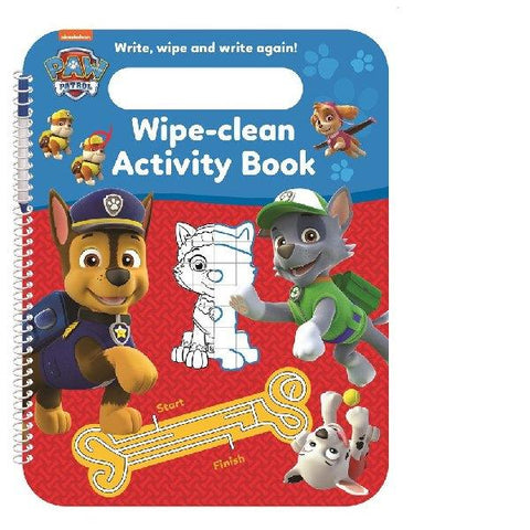 Paw Patrol Wipe Clean Activity Book
