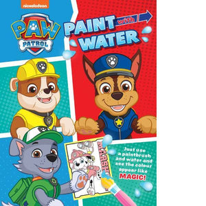Paw Patrol Paint With Water