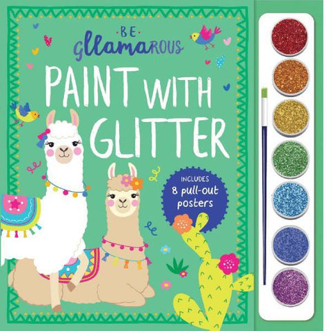 Be Gllamarous Paint with Glitter