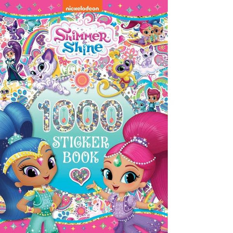Shimmer And Shine 1000 Stickers