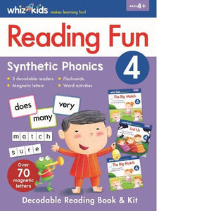 Whiz Kids Learning Kit reading Fun 4