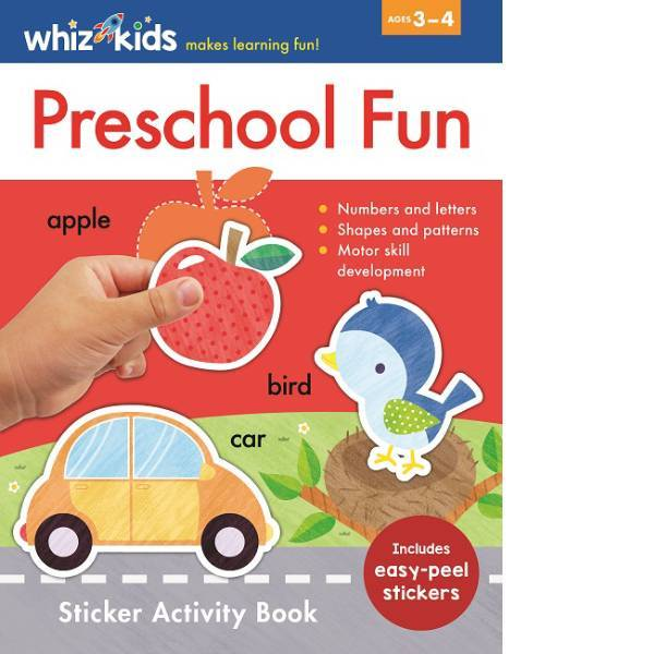 Whiz Kids Preschool Sticker Activity