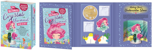 Ultimate Crystal the Mermaid	 Book and Kits