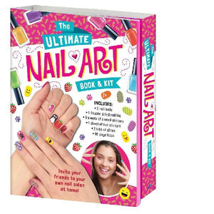 Ultimate Nail Art Book & Kit