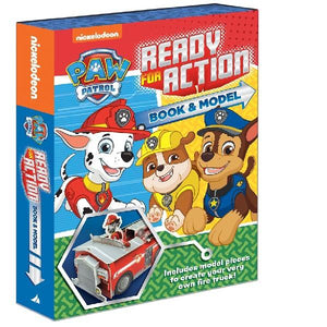 Paw Patrol Ready for Action Book and Model Kit