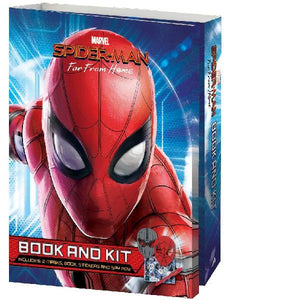 Spiderman Far from Home Masks Book & Kit