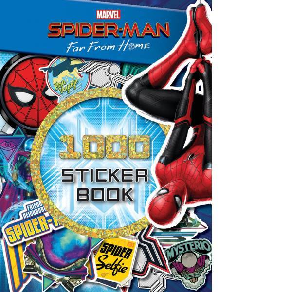 Spiderman  Far From 1000 Stickers