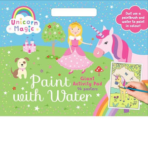 Unicorn Paint With Water Activity Pad